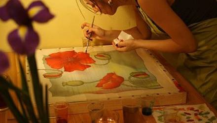 painting-on-fabric-for-two-kiev